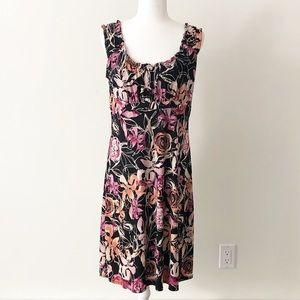 Liz Claiborne Axcess | Floral Shift Dress